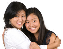 Mother's Day Smiles Royalty Free Stock Photos