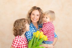 Mother`s day spring holiday concept royalty free stock photo