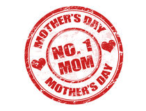 Mother's day stamp Royalty Free Stock Images