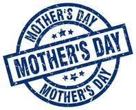 Mother`s day stamp. Mother`s day grunge stamp on white background Stock Photo