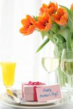 Mother's day table Royalty Free Stock Photography