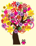 Mother's day tree Stock Image