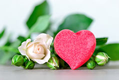 Mother's day or valentine's card Royalty Free Stock Photography