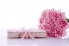 Mother`s Day, Valentine`s Day, gifts. Mother`s Day, Valentine`s Day, Mom or Lover, warm gifts Royalty Free Stock Images