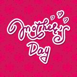 Mother`s day 86 stock illustration