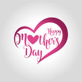 happy mothers day greeting card vector illustration stock illustration
