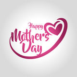 Happy mothers day greeting card vector illustration vector illustration