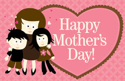 Mother's Day Web Banner stock illustration