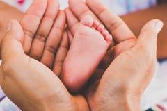 Baby`s toe Royalty Free Stock Photo