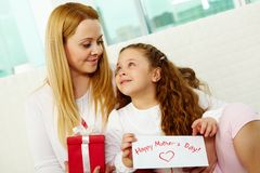Mother�s holiday Stock Photos