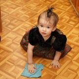 Mother's little helper stock photo