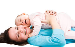 Mother's love Royalty Free Stock Photo