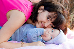 Mother's love Stock Image