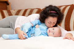 Mother's love. Royalty Free Stock Photo