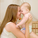 Mother's love. Stock Images
