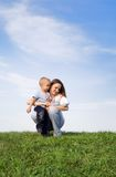 Mother's love 3 royalty free stock images