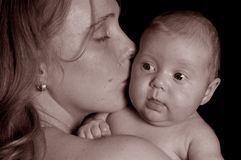 Mother`s love royalty free stock image