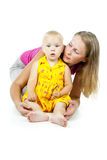 Mother with small child Royalty Free Stock Photo
