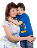 Mother with son Stock Photography