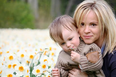 Mother and son Royalty Free Stock Photos