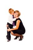 Mother with a son Royalty Free Stock Photo