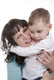 Mother and Son. Royalty Free Stock Photo