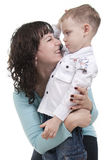 Mother and Son. Stock Images