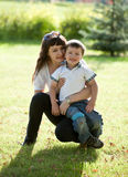 Mother with son. Royalty Free Stock Images
