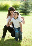 Mother with son. Royalty Free Stock Photography