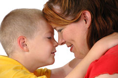 Mother and son Stock Photography