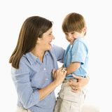 Mother with son. royalty free stock photos