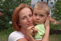 Mother and son Royalty Free Stock Photo