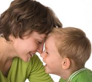Mother with the son Royalty Free Stock Photography