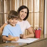 Mother and son. Royalty Free Stock Images