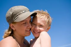 Mother & son Royalty Free Stock Photography