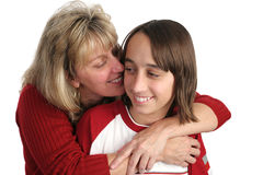 Mother Son Cuddle Stock Photos