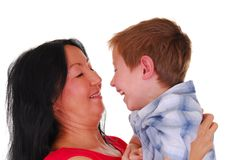 Mother and Son Eighteen Royalty Free Stock Photos