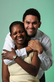 Mother and Son Embracing Royalty Free Stock Images