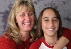 Mother Son Fun Stock Image