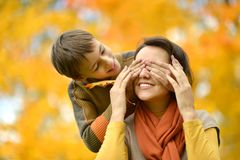 Mother with a son Royalty Free Stock Image