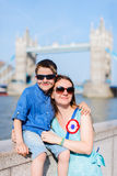 Mother and son in London Stock Photography