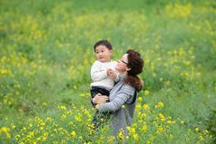 Mother and son in love Royalty Free Stock Image