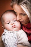 Mother and son portrait Royalty Free Stock Photography