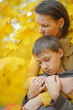 Mother with a son Royalty Free Stock Photos