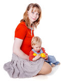 Mother with son Royalty Free Stock Photography