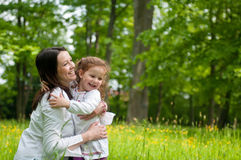 Mother Spending Happy Time With Her Child Stock Photography