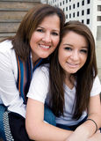 Mother and Teen Daughter Royalty Free Stock Photography