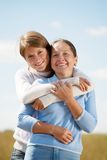 Mother with teenager daughter Royalty Free Stock Photo