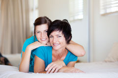 Mother teenager daughter Royalty Free Stock Photography