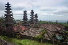 Mother temple in Bali. View of Mother Temple in Besakih in Bali, Indonesia Stock Photography